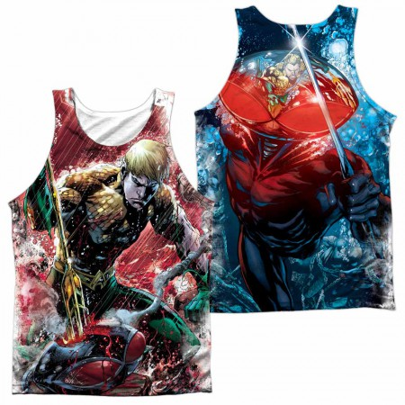 Justice League Aquaman Vs Manta Sublimation Tank Top