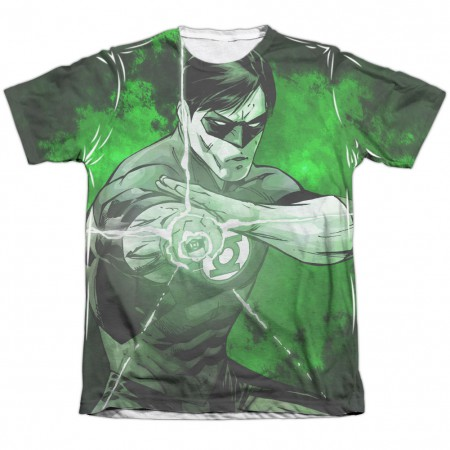 Green Lantern Charging Sublimation T-Shirt