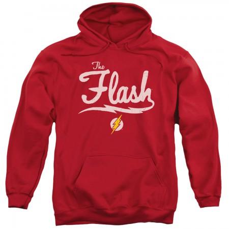 The Flash Old School Adult Hoodie