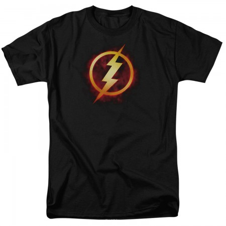 The Flash Justice League Logo Tshirt