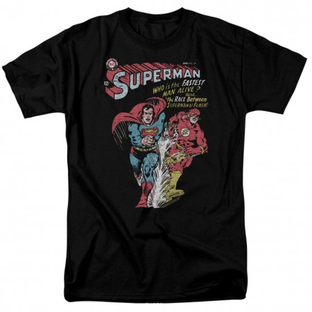 Superman VS The Flash Fastest Man Alive Tshirt
