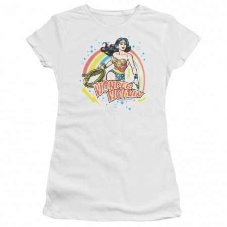 Wonder Woman Rainbow Women's Tshirt