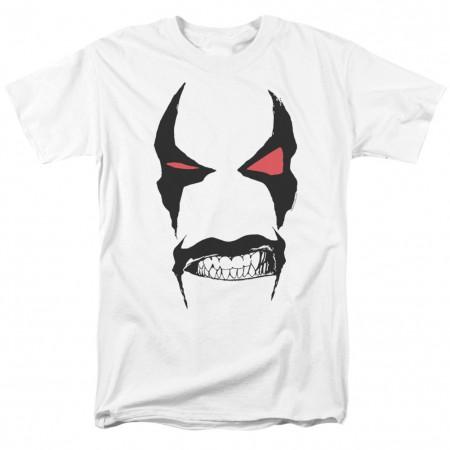 Lobo Face Men's White T-Shirt