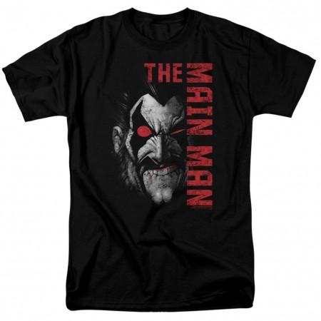 Lobo Main Man Men's Black T-Shirt