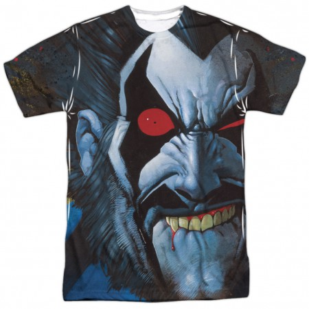 Lobo All Over Front Print Tshirt