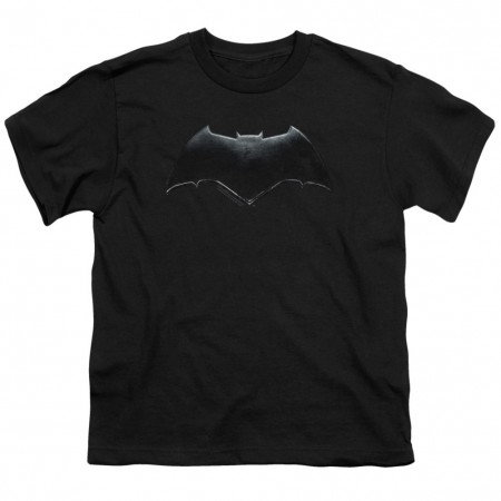 Justice League Batman Logo Youth Tshirt