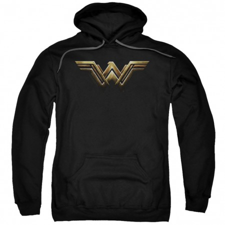 Justice League Wonder Woman Logo Hoodie