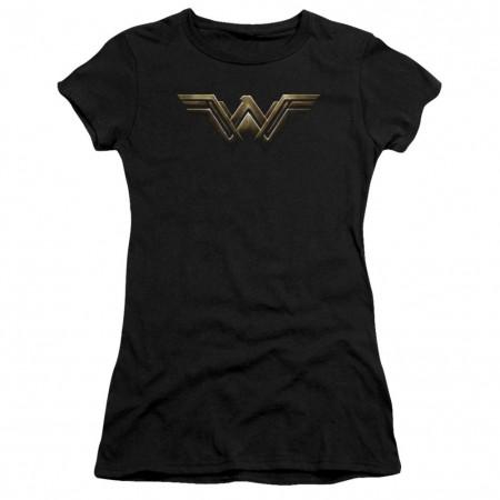 Justice League Wonder Woman Logo Women's Tshirt