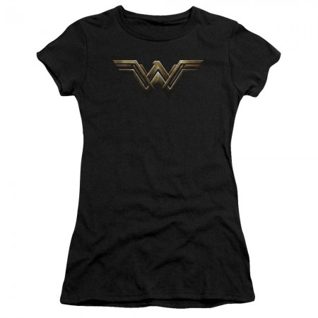 Wonder Woman Justice League Logo Juniors T-Shirt