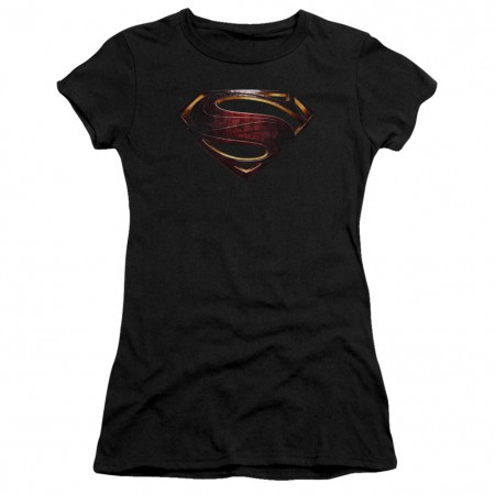 Justice League Superman Logo Women's Tshirt