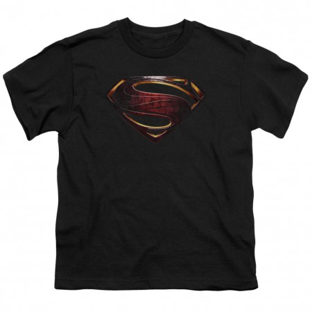Justice League Superman Logo Youth Tshirt