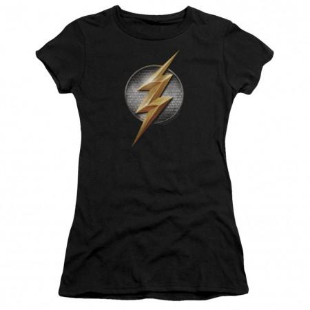 Justice League The Flash Logo Women's Tshirt