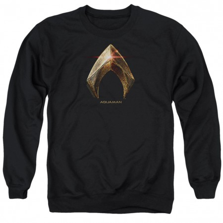 Aquaman Logo Justice League Crewneck Sweatshirt