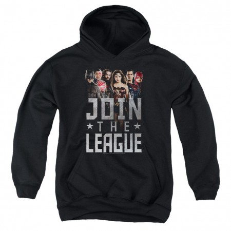 Justice League Join The League Youth Hoodie