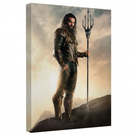 Justice League Aquaman 16x20 Canvas Print