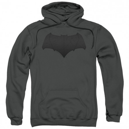 Justice League Batman Logo Grey Hoodie