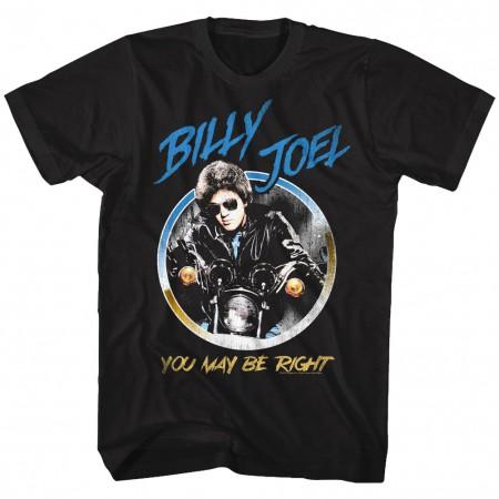 Billy Joel You May Be Right Circle Tshirt