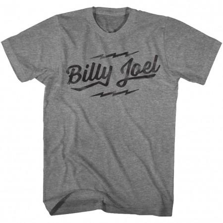 Billy Joel Text Logo Tshirt