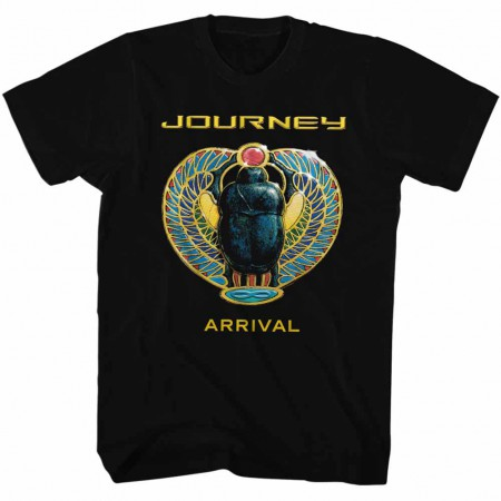 Journey Arrival Mens Black T-Shirt