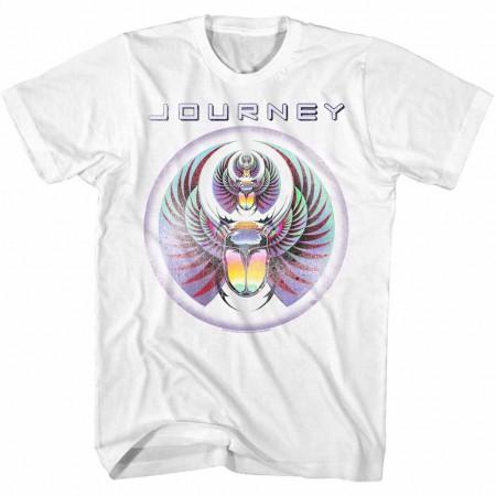 Journey Scarab Men's White T-Shirt
