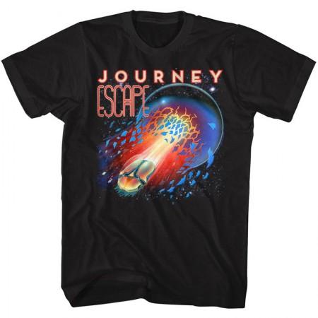 Journey Escape Men's Black T-Shirt