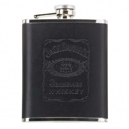 Jack Daniel's Jumbo Leather Flask