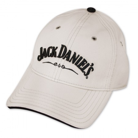 Jack Daniel's Adjustable Ivory Hat