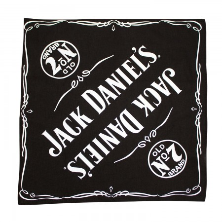 Jack Daniels Black Old No. 7 Bandana