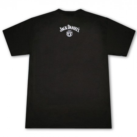 Jack Daniel's 'Jack Lives Here' Old. No 7 Logo Men's Black T-Shirt