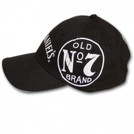 Jack Daniel's Old No. 7 Side Logo Adjustable Black Hat