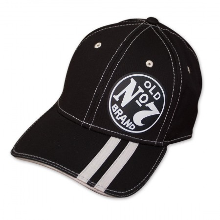 Jack Daniel's Old No. 7 Striped Brim Flex Fit Hat