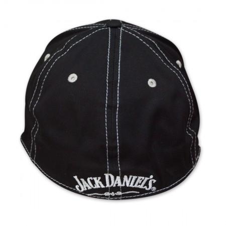 Jack Daniel's Old No. 7 Striped Brim Flex Fit Hat