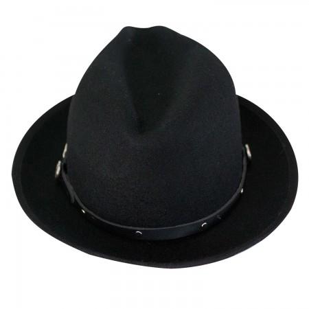 Jack Daniels Wool Water Repellent 2 Inch Brim Hat