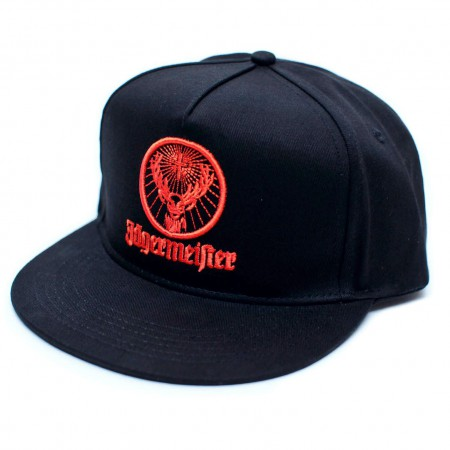 Jagermeister Logo Men's Black Hat