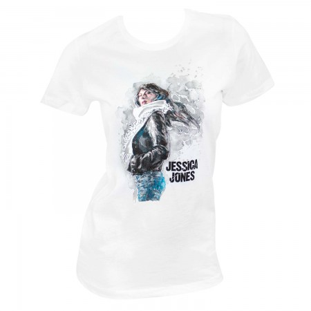 Jessica Jones Women's White T-Shirt