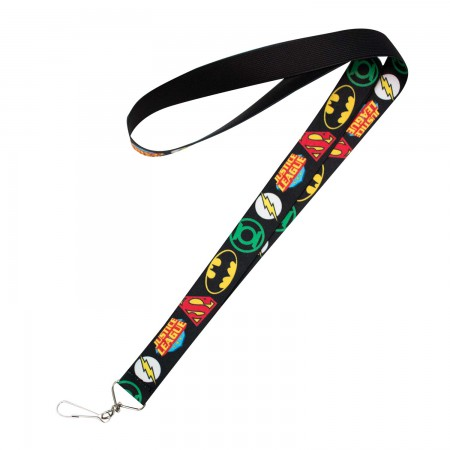 Justice League Keychain Lanyard