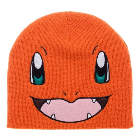 Pokemon Charmander Orange Beanie