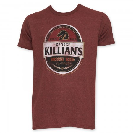 Killian's Men's Red Beer Logo T-Shirt