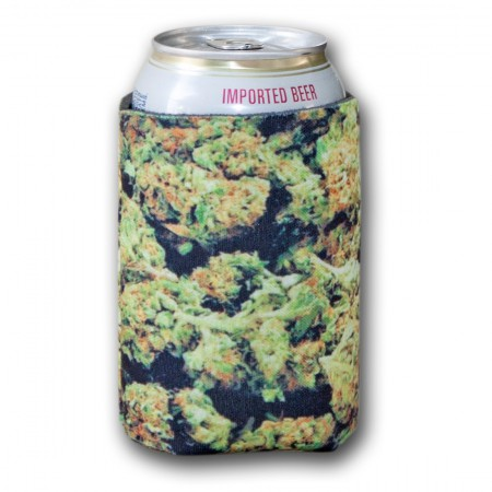 Weed Print Can Cooler