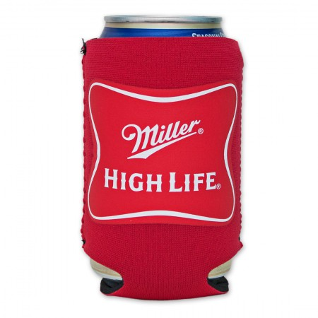 Miller High Life Cooler Can - Red