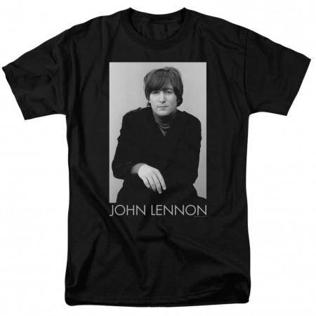Beatles John Lennon Portrait Tshirt