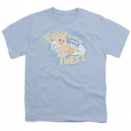 Looney Tunes Tweety Fweedom Youth Tshirt