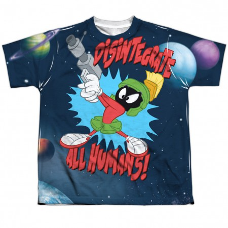 Looney Tunes Disintegrate All Humans Youth Tshirt