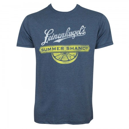 Leinenkugel's Men's Navy Blue Summer Shandy T-Shirt