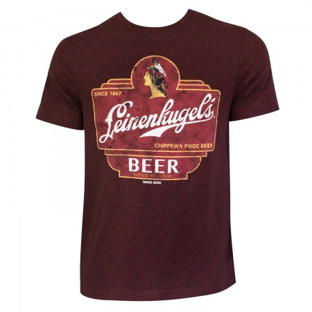 Leinenkugel Men's Red Beer Logo T-Shirt