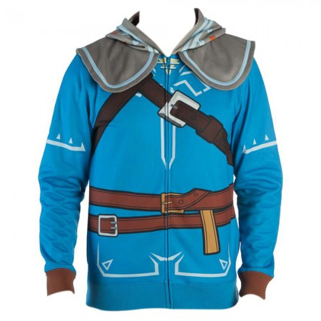 The Legend Of Zelda Breath Of The Wild Link Costume Men's Hoodie