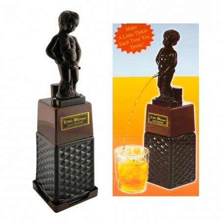 Little Whizzer Statue Liquor Dispenser