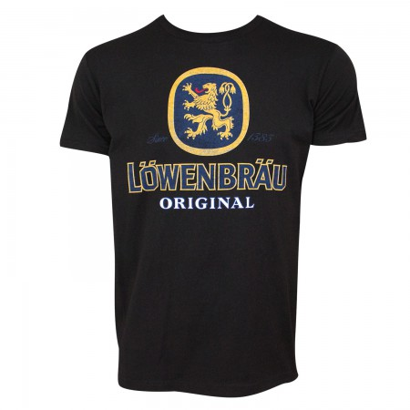 Lowenbrau Men's Black T-Shirt