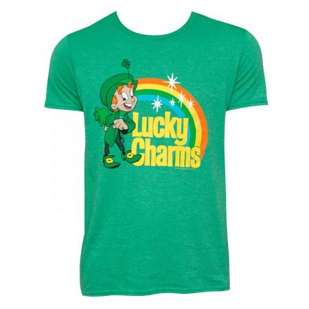 Lucky Charms Logo Green Tee Shirt