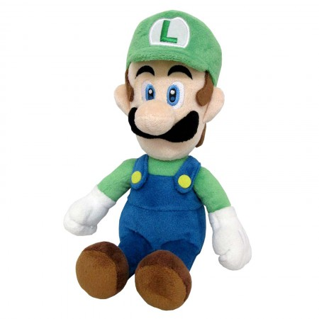 Super Mario Bros. Luigi 10 Inch Plush Toy